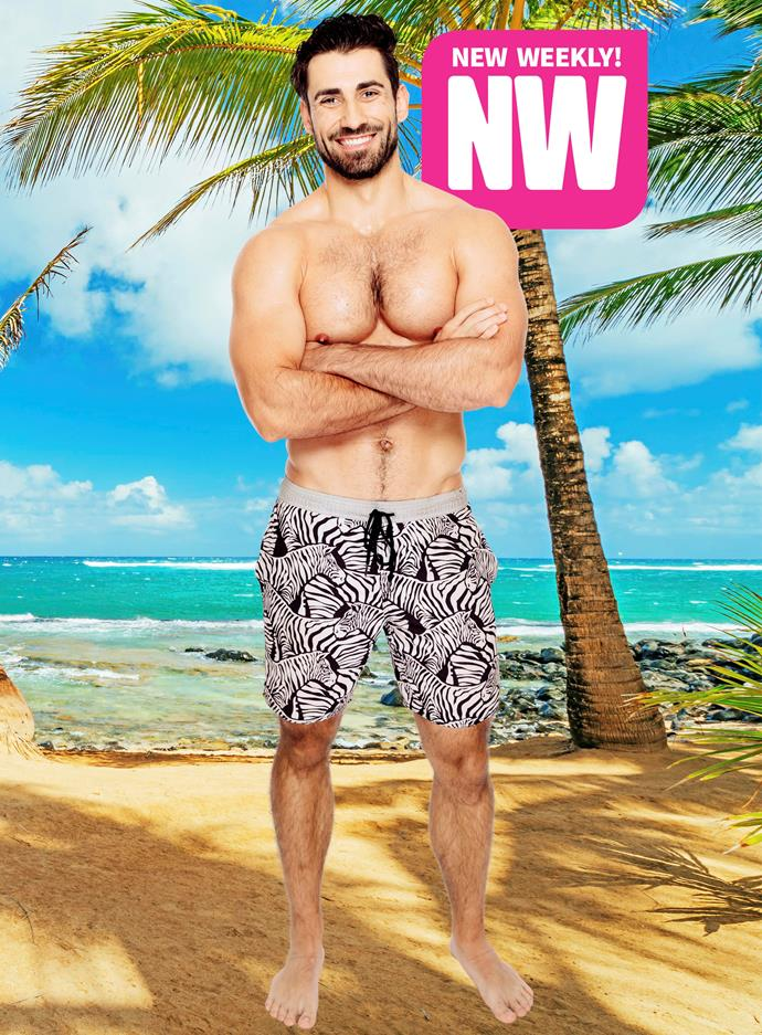 "**ALEX BORDYUKOV** <br><br> It wouldn't be Bachie in Paradise without a blow-in from the US series!  <br><br> This year's chosen one comes in the form of 30-year-old Alex Bordyukov, who is more than excited to mingle with the ladies Down Under for another round of reality TV.  <br><br> ""Obviously, I like what it tasted like,"" he says of taking another stab at TV land. And he's not afraid to get down and dirty, should the situation call for it!  <br><br> ""I will make a play for someone else's crush if there is a mutual interest,"" he tells.  <br><br> Watch out, fellas!"
