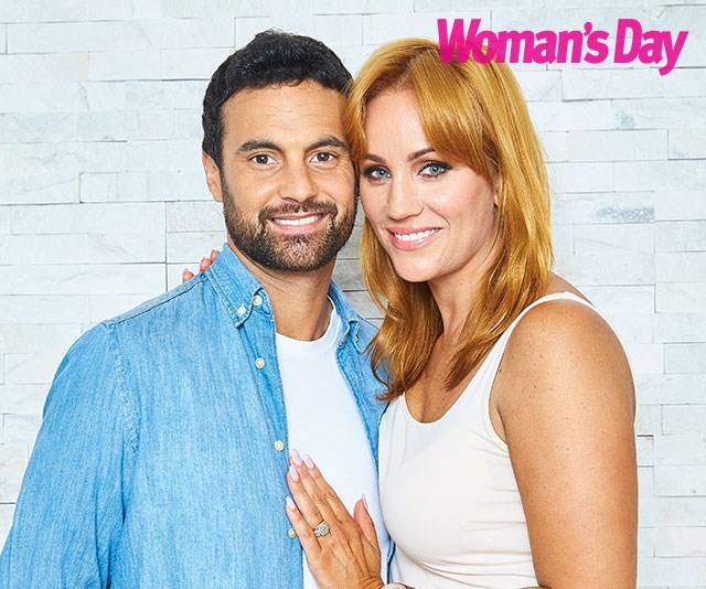 """Double trouble: """"I'm genetically destined to have them [twins]. It skips a generation and it's landed on us,"""" Jules tells us. *(Image: Exclusive to Woman's Day/Phillip Castleton/bauersyndication.com.au)*"""