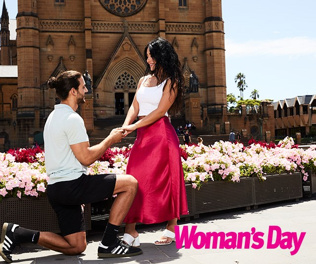 It was love at first sight for the couple! *(Image: Exclusive to Woman's Day/Phillip Castleton/bauersyndication.com.au)*