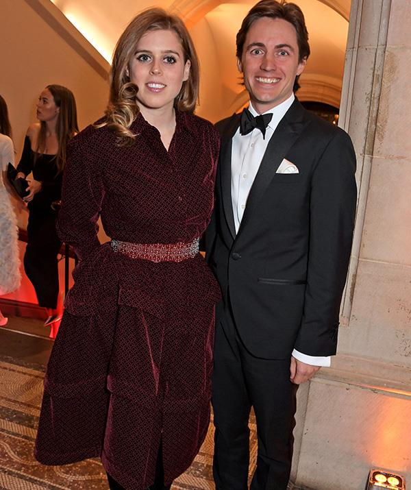 The royal couple made a dazzling public debut at the Portrait Gala. *(Image: Getty)*