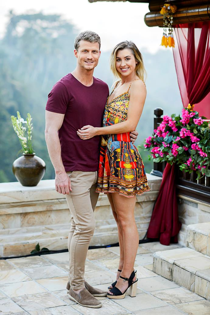 Alex and Maegan quickly began dating after Alex split from Richie Strahan.