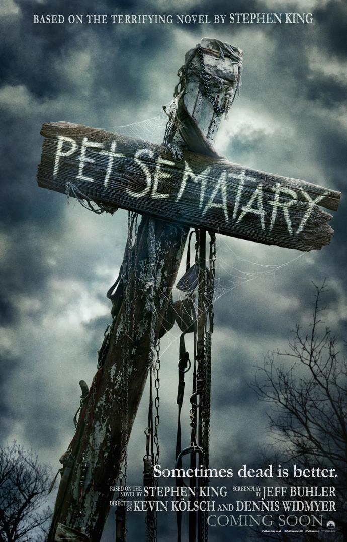 Promotional poster for Kolsch and Widmyer's reboot of Pet Sematary. *(Paramount Pictures)*