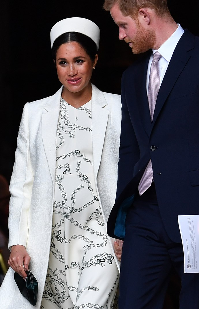 Meghan and Harry were reportedly planning to raise their baby as a vegan. *(Image: Getty)*