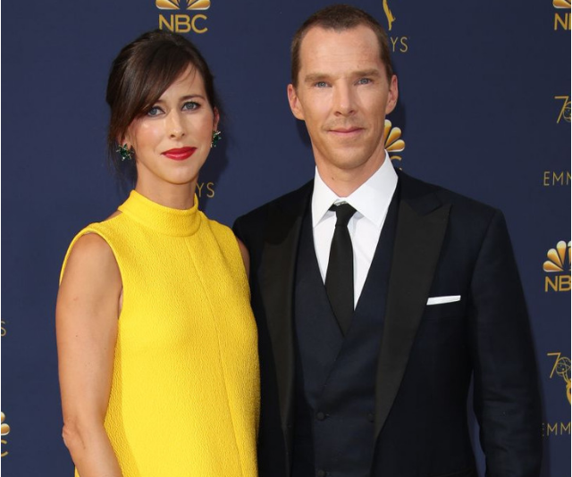 **Hal:** Benedict Cumberbatch and his wife, Sophie Hunter, chose a less tongue-twisting name than daddy's for their second son, 'Hal Auden'. *Image: Getty.*