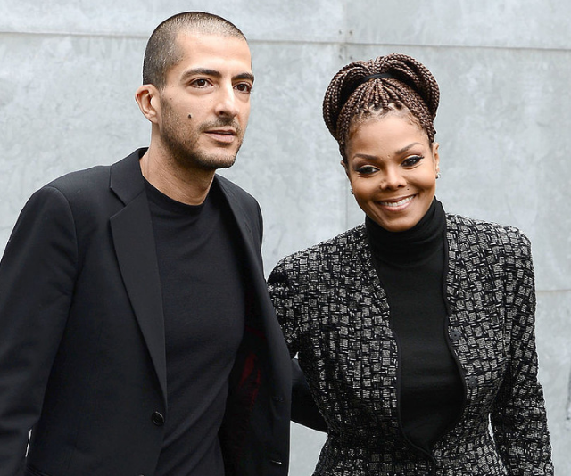 """**Eissa:** [Janet Jackson](https://www.nowtolove.com.au/celebrity/celeb-news/janet-jackson-50-shows-off-pregnant-bump-5780