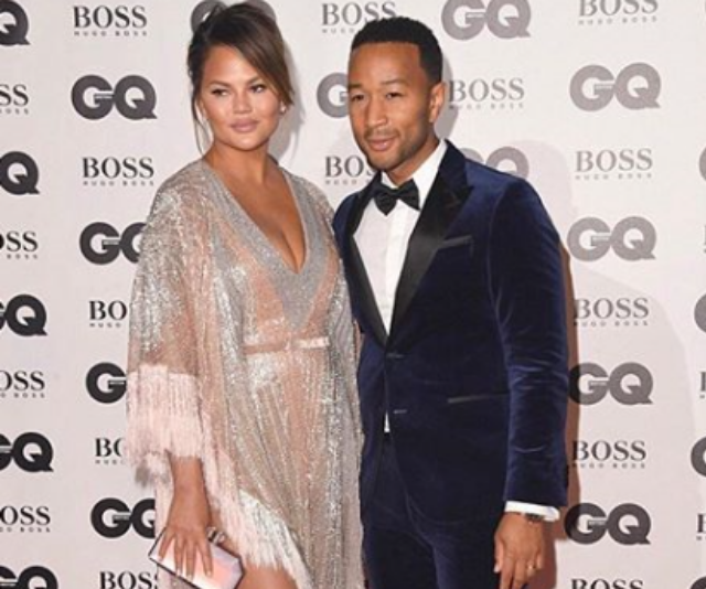 **Luna:** Not only do Chrissy Teigen and John Legend give great social media … they make pretty cute people too. And their first born daughter is putting the name Luna on the map. *Image: Instagram/ChrissyTeigen.*