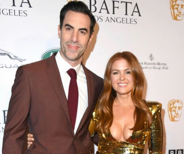 "**Montgomery:** Aussie star, [Isla Fisher](https://www.nowtolove.com.au/celebrity/celeb-news/isla-fisher-shares-hilarious-details-of-life-with-sacha-baron-cohen-5810|target=""_blank"") and her husband, Sacha Baron Cohen named their first son, Montgomery Moses. He joins sisters, Elula and Olive. *Image: Instagram/IslaFisher.*"