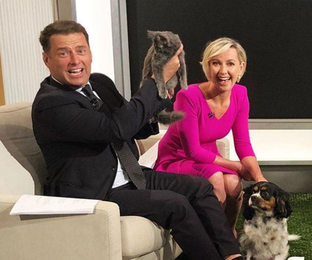 Deb and Karl have great on-screen chemistry. *(Image: @thetodayshow Instagram)*