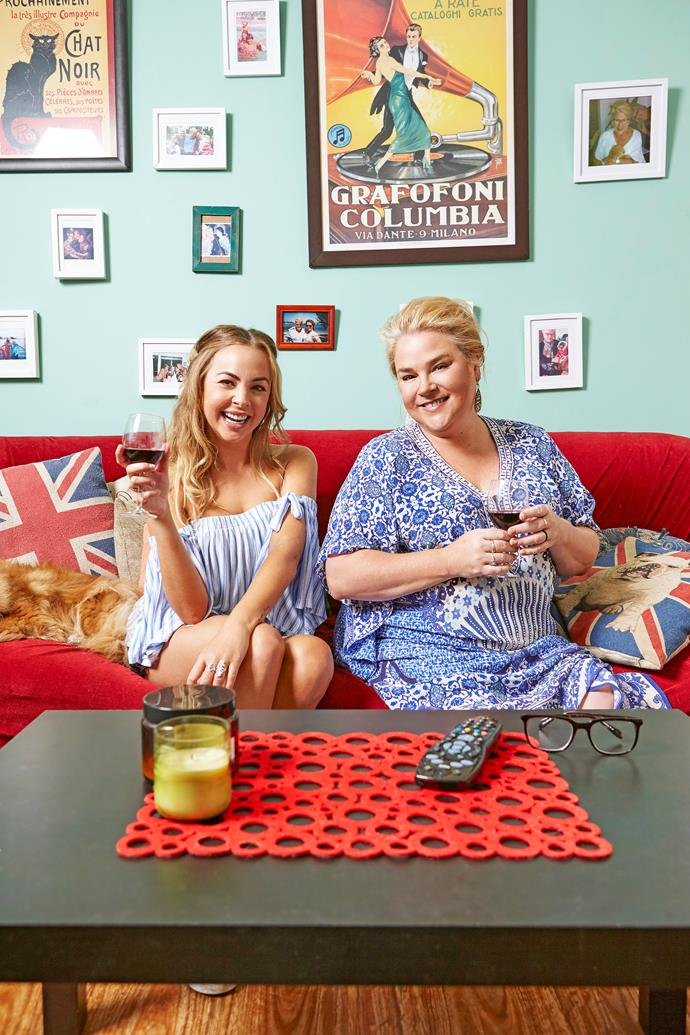 Angie found fame with her *Gogglebox* co-star Yvie.