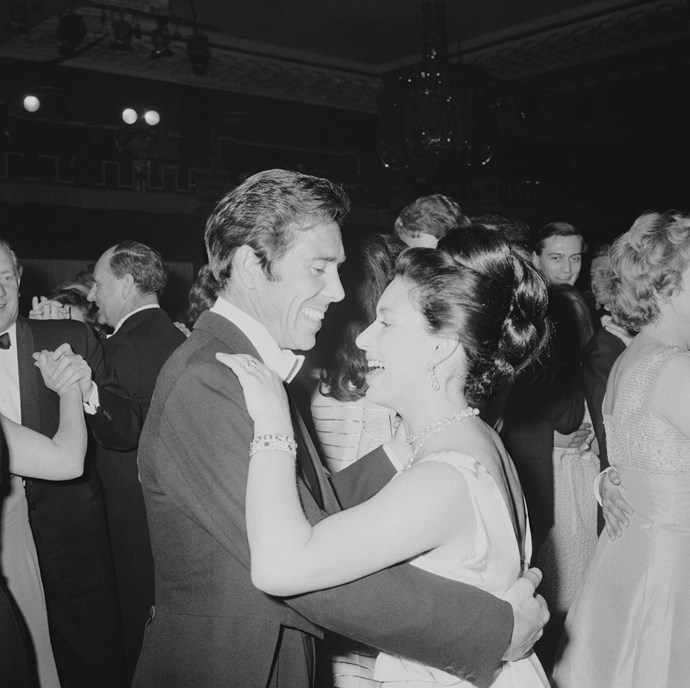 Margaret and Tony hit the dance floor in 1967. *(Image: Getty)*
