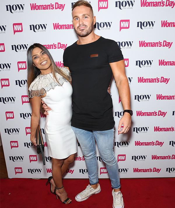 "Hot on the heels of going public, new couple Cyrell Paule and Love Island's Eden Dally put on a loved up display as they entered the event... or did they?  <br><br> Onlookers said while the pair appeared to be in good spirits, they didn't spend an awful lot of time *together* during the event. And after Cyrell's [gushing tribute to Eden](https://www.nowtolove.com.au/reality-tv/married-at-first-sight/married-at-first-sight-cyrell-eden-dally-together-55030|target=""_blank"") on *Talking Married* earlier in the week, it seemed a little odd that they weren't in each other's pockets. *(Image: Mega)*"