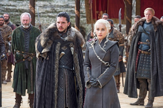 We waited a long time for the meeting of Jon Snow and Daenerys Targaryen.