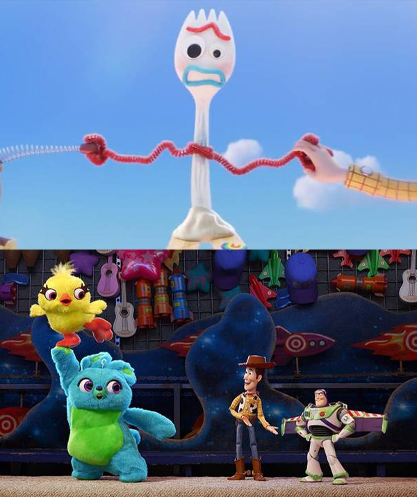 New characters join our old favourites. *(Pixar, Walt Disney Pictures)*