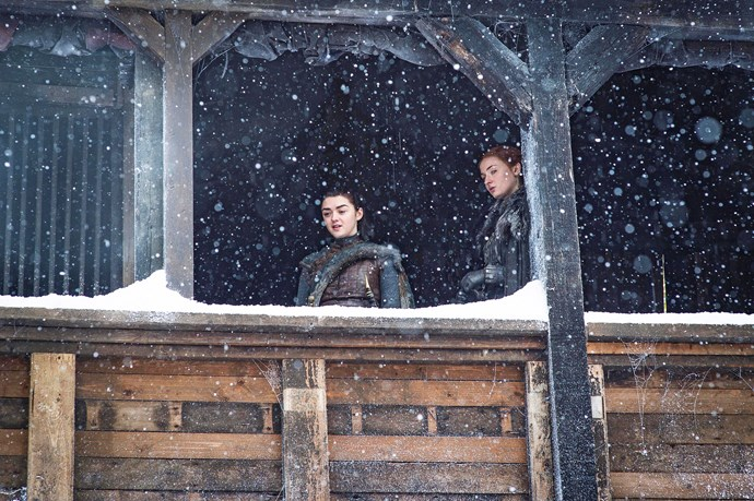 The Stark family reunion wasn't exactly a joyous occasion.