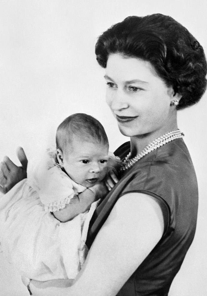 Elizabeth opted for a 'home birth' for all four of her children, who arrived safely at Buckingham Palace. But that was all about to change for the next generation of royals... *(Image: Getty)*