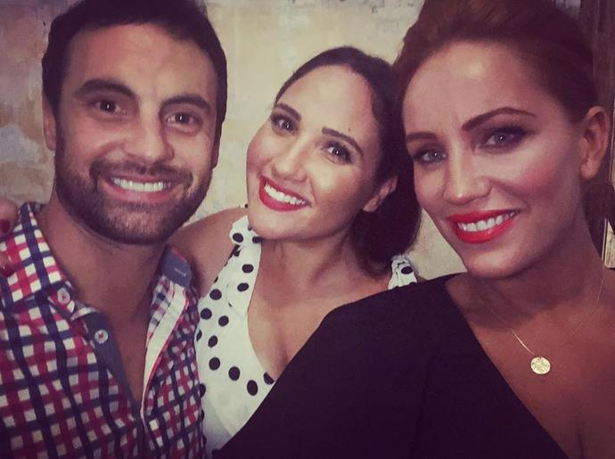 (l-r) Cam Merchant, Me (Anita) and Jules Robinson - the poster couple for *MAFS* this season. *(Source: Now To Love Supplied)*