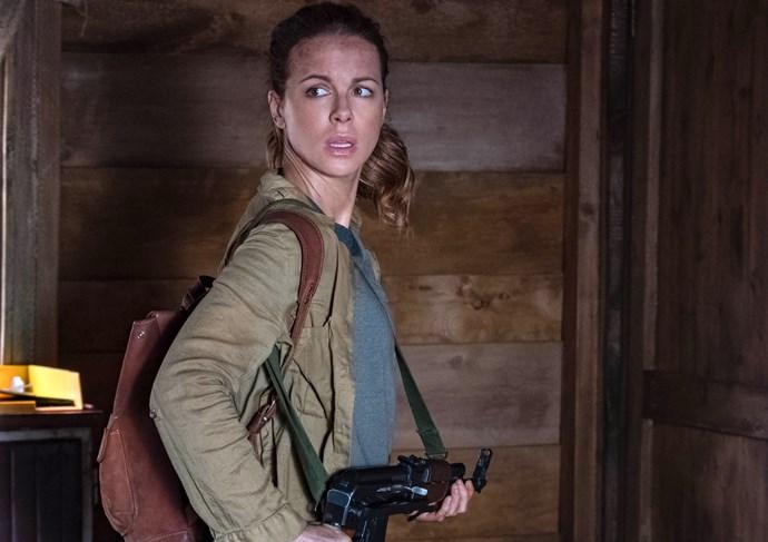 Kate stars as Army vet Georgia.