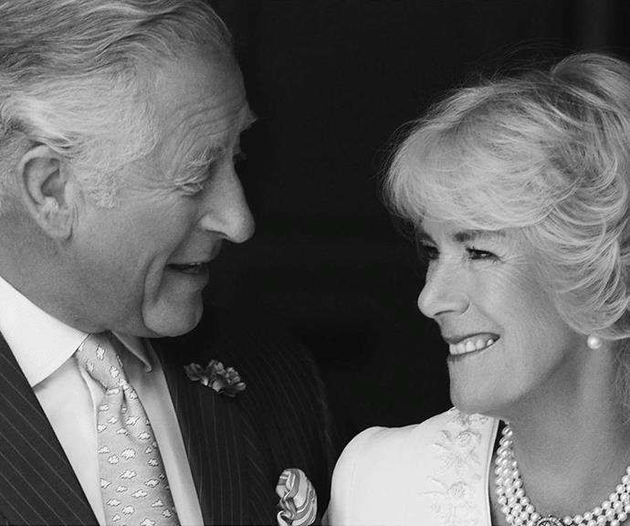 The way he looks at her! *(Image: @clarencehouse/Instagram)*