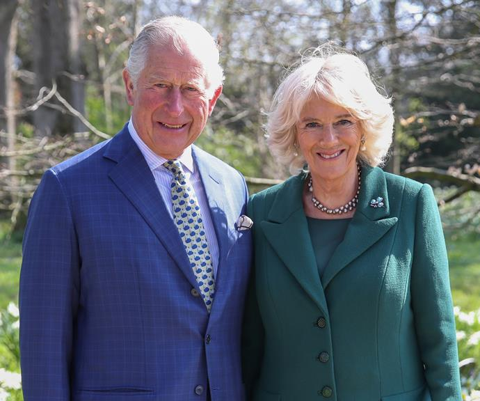 Prince Charles and Camilla in Belfast. *(Image: Getty)*