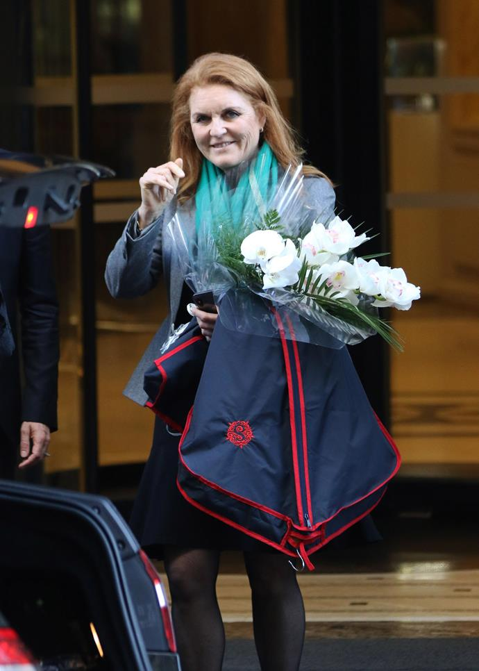 Sarah Ferguson has shared some rare photos of her family for a very special reason. *(Image: Getty)*