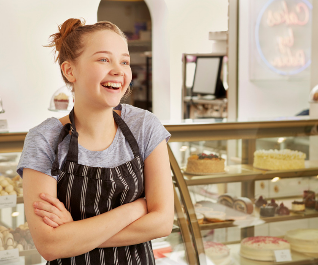 Your child's first job is a stepping stone to the next job. *Image: Getty.*