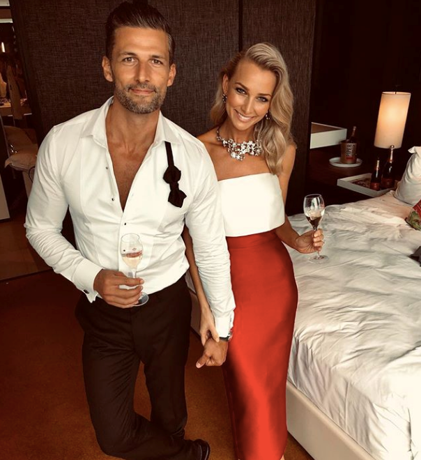 The former Bachelor couple are paving their own successful paths. *(Image: Instagram / @annaheinrich1)*