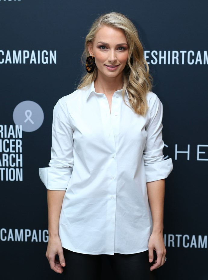 Anna is an ambassador for Witchery's annual White Shirt Campaign. *(Image: Getty)*