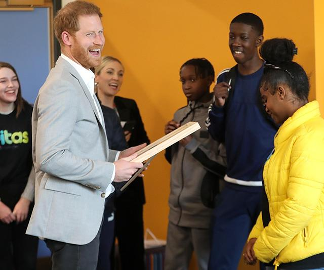 The royal spoke candidly about issues affecting youth today. *(Image: Getty)*