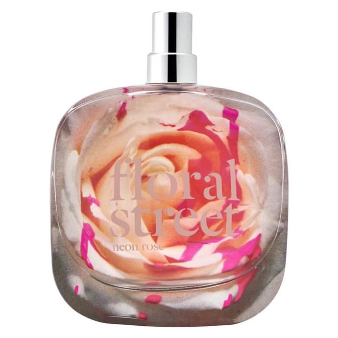 "Floral Street Neon Rose EDP (50ml) $109 *([mecca.com.au](https://www.mecca.com.au/|target=""_blank""|rel=""nofollow"")).*"