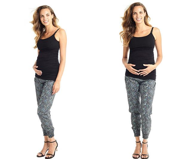 """[Mama Muse's Terry-Lined Nursing Compression Cami](https://mama-muse.com/collections/nursing/products/ultimate-terry-lined-nursing-support-cami