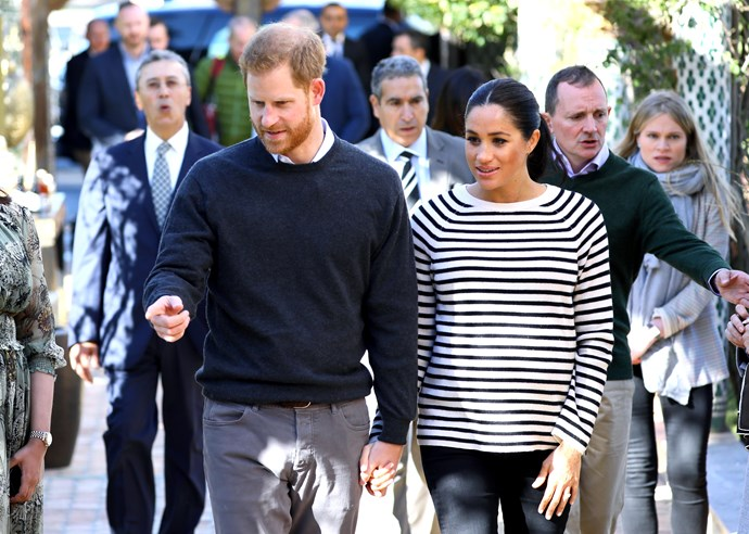 Meghan and Harry launched their own Instagram account in what seems to be a bid to separate themselves as their own family unit within the royal family. *(Image: Getty)*