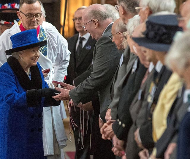 The Queen will present Maundy Money to men and women who have given back to their community and the church ahead of Easter Sunday. *(Image: Getty)*