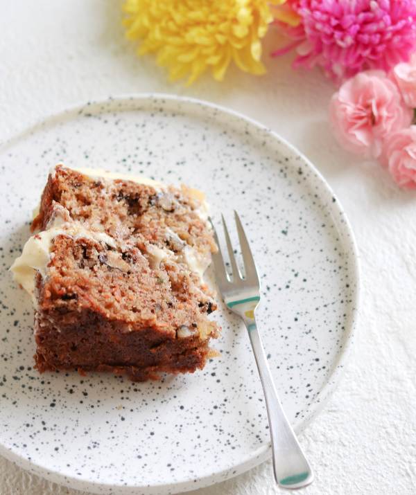 Pineapple keeps this cake super-moist and mouth-watering. *Image: Supplied.*