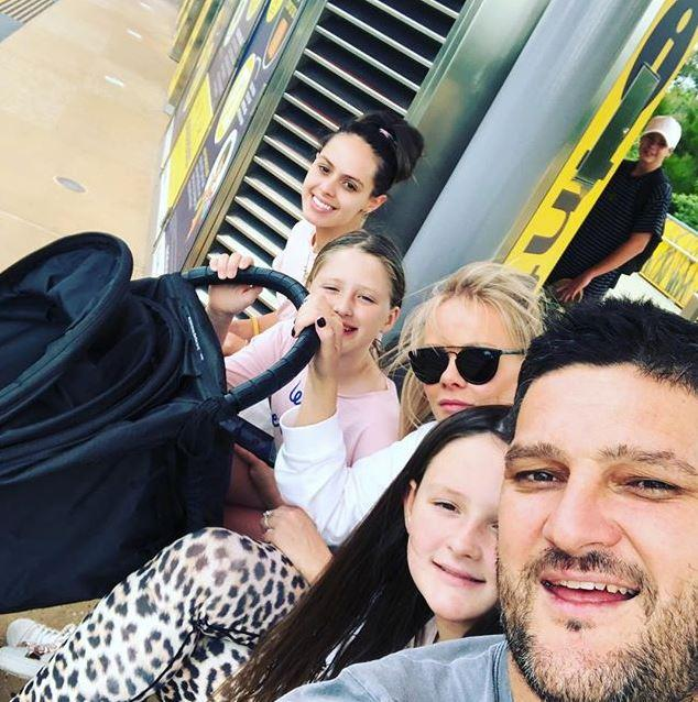The Fevola clan are now a family of six! *(Image: Instagram @brendanfevola25)*