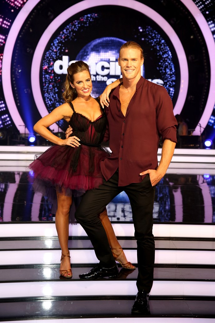 Jett and Lily have made quite the pair on DWTS! (Image: Network 10).