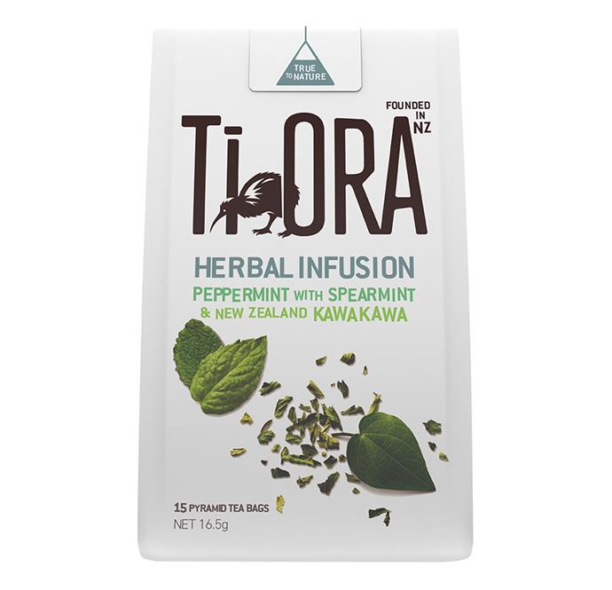 "*Ti Ora Peppermint Tea with Spearmint and New Zealand Kawakawa, $6 at [Coles](https://shop.coles.com.au/a/a-nsw-metro-pagewood/product/ti-ora-herbal-infusion-pepmint-sprmint-teabag|target=""_blank""