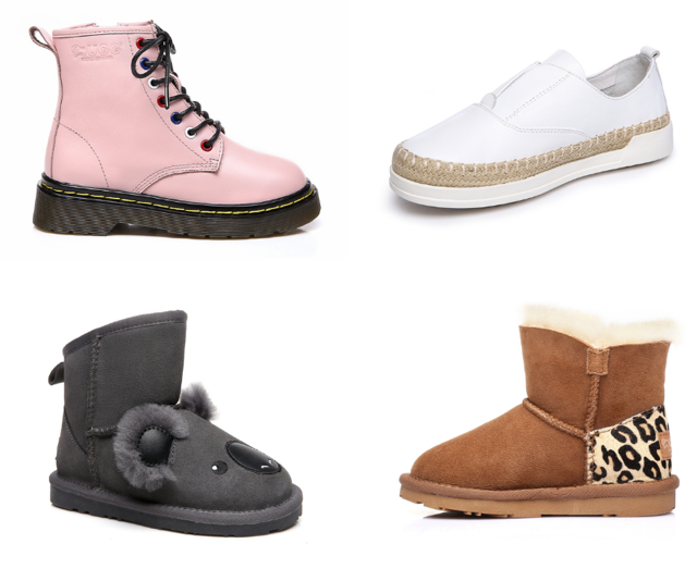 Ever Australia kids' shoes are warm, snuggly and incredibly funky!