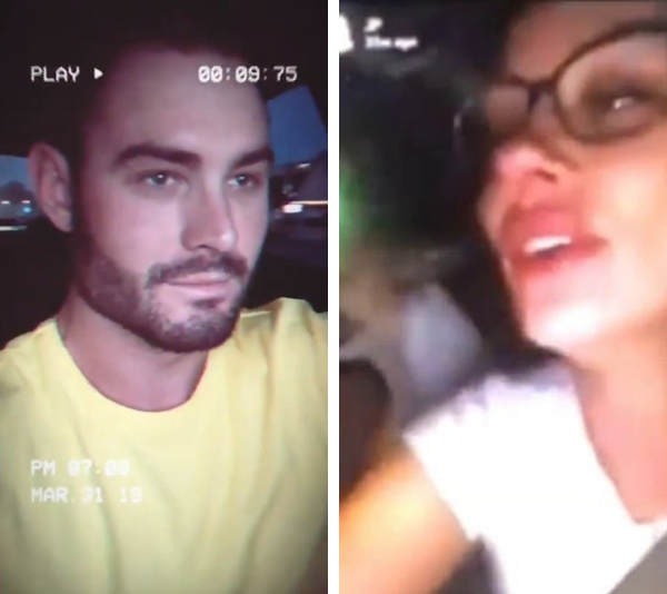 Sam Ball and Jessika Power from *Married at First Sight* were both caught uploading and driving. *(Source: Instagram / Sam Ball / Jessika Power)*