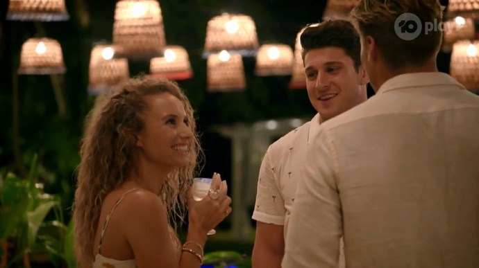 Zoe had her pick of the bunch with Connor and Nathan both revealing they were keen.