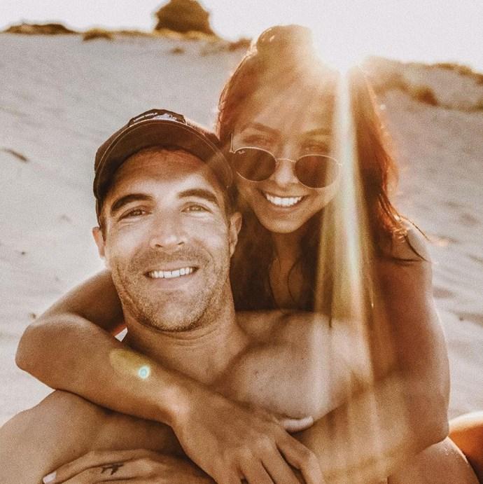 Brooke Blurton and her boyfriend, Nick Power. *(Source: Instagram/Brooke.Blurton)*