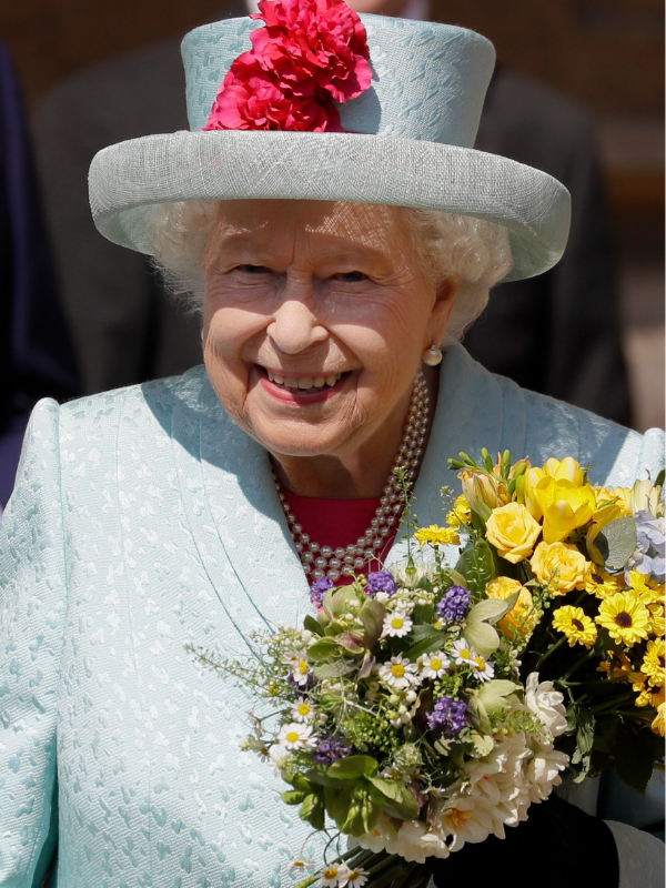 The Queen on her 93rd birthday. *(Source: Getty images)*