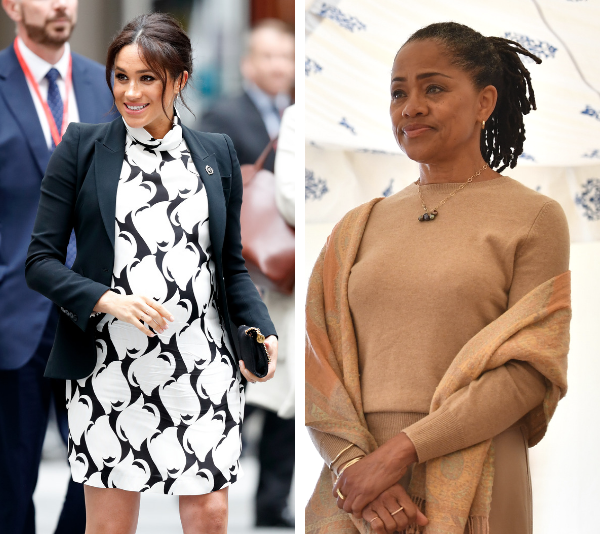 Grandma reporting for duty! Doria Ragland has reportedly landed in the UK. *(Source: Getty)*