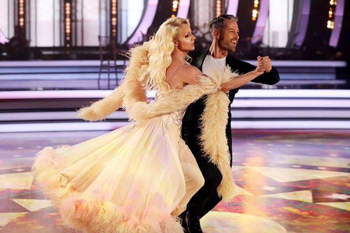 """""""She's the most qualified dancer,"""" Craig says of Courtney Act (Image: Network 10)."""