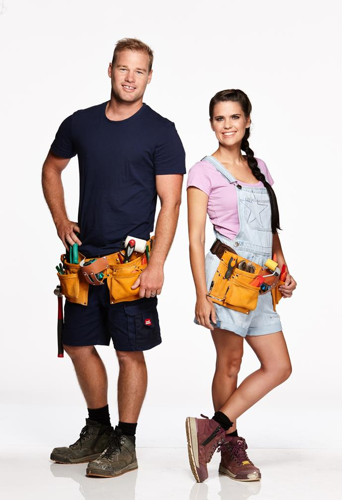 """**SHAYN & CARLY, MARRIED, QLD** <br><br> They've been married for six years and have two daughters – Harper, five, and Imogen, three – so next on the bucket list for civil engineer Shayn, 33, and wife Carly, 31, is to upgrade their three-bedroom double-brick """"prison"""".  <br><br> """"It's a small rectangular box with bars on the windows, security screens all over the place and not much light,"""" Shayn says of his home.  <br><br> Adds Carly, """"Having our house renovated into a dream home would be like winning lotto!"""""""