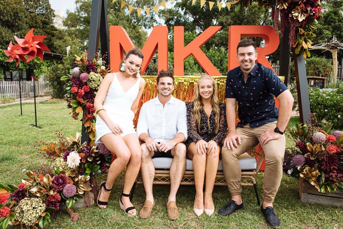 Matt pictures himself married like his *MKR* teamate Luke (Image: Supplied).