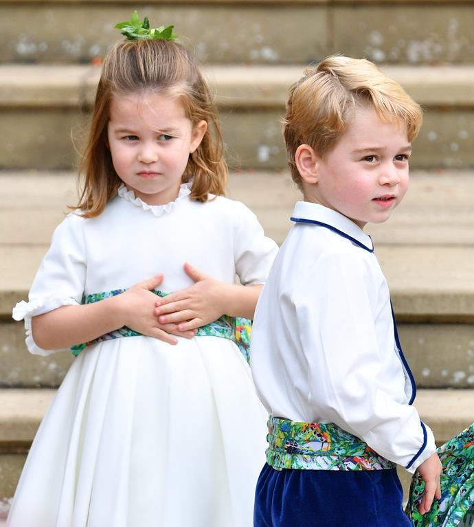 Kate has also photographed her two elder children, George and Charlotte, for several of their milestone moments. *(Image: Getty)*