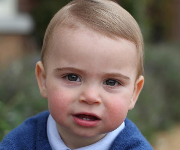 William? George? Charlotte!? We can see traits from all the royals in this adorable new Prince! *(Image: AAP / credit: The Duchess of Cambridge)*