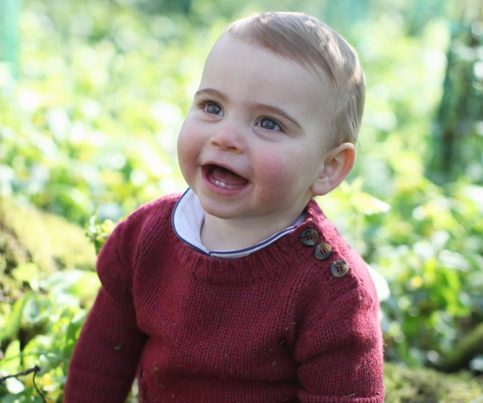 The brand-new pictures were taken by Louis' doting mum, Kate. *(Image: AAP / credit: The Duchess of Cambridge)*