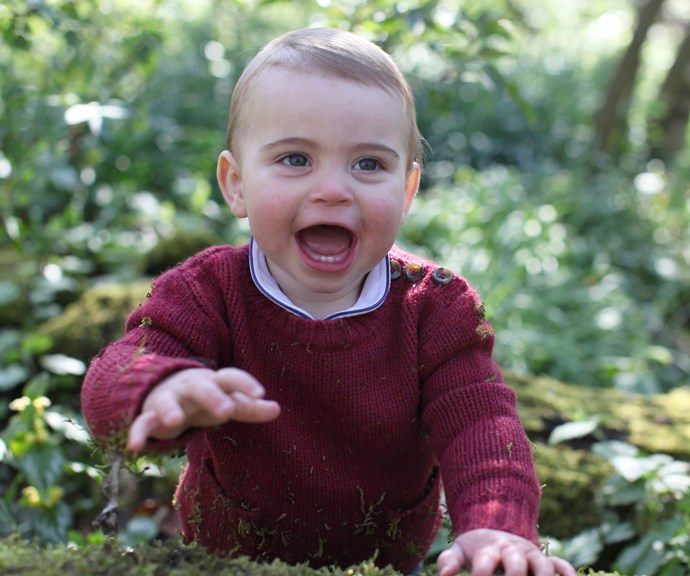 The one-year-old couldn't look any cuter! *(Image: AAP / credit: The Duchess of Cambridge)*
