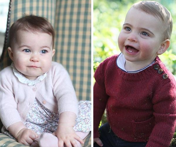 Or is Prince Louis more like his big sis, Princess Charlotte? *(Images: L-R Instagram @kensingtonroyal/Chris Jackson/Getty)*